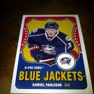 2010-11 O-Pee-Chee Retro Samuel Pahlsson card no. 144