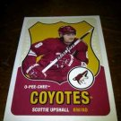 2010-11 O-Pee-Chee Retro Scottie Upshall card no. 110