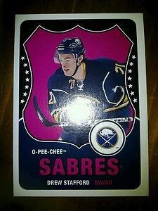 2010-11 O-Pee-Chee Retro Drew Stafford card no. 97