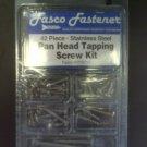 42 piece Pan Head Tapping Screw Kit