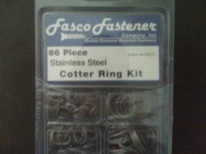 66 Piece Cotter Ring Kit