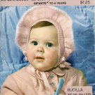 Vintage Bucilla Baby Book: Infant to 4 Years Knitting Patterns Vol 339 1950