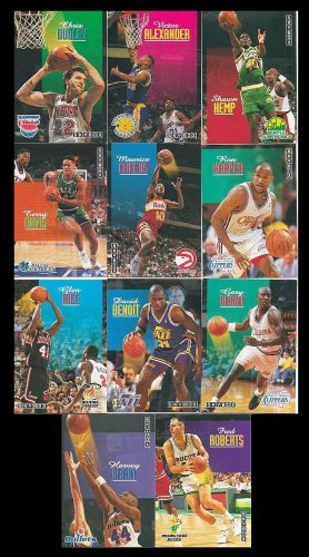 Skybox 1992-1993 Basketball NBA Trading Cards Lot of 11 Near Mint condition