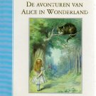 De Avonturen Van Alice in Wonderland (Dutch) by Lewis Carroll  1996 Large Print