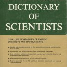 A Biographical Dictionary of Scientists, Ed. Trevor I Williams, 1969