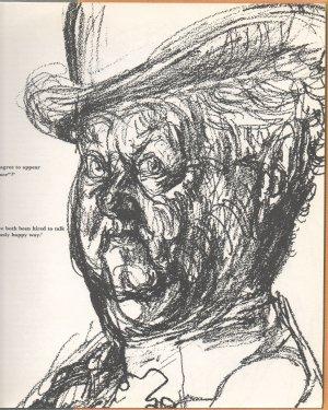 Face to Face, Ed Hugh Burnett, Illustrated by Feliks Topolski 1965