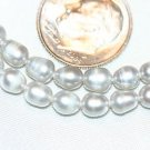 GREY FRESHWATER PEARL BEADS -16 INCH STRAND