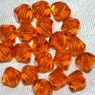 12 SWAROVSKI CRYSTAL SUN- 4MM BICONE BEADS