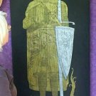 NEW SALE BRASS RUBBING,KING ROBERT THE BRUCE SCOTTISH