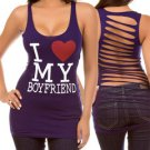 I Love My Bf - Tee (Only in Gray)