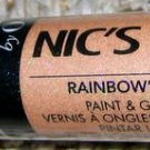 Nicole OPI Nic's Sticks Paint&Go Nail Polish RAINBOW'S END Gold Holographic Holo