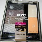 New York Color NYC IndividualEyes BROWN EYES Palette *SMOKEY BROWNS 941* Sealed