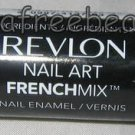 Revlon Nail Art FRENCH MIX Nail Polish Duo *MOONSTRUCK* Purple Silver Glitter BN