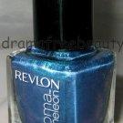 Revlon Lmtd Ed. Chroma Chameleon Nail Polish *AQUAMARINE* Aqua Blue Duo-Chrome