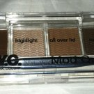 N.Y.C. New York Color Creme Liner & Eyeshadow Mod Quad * i858B GET DOWN BROWNS *