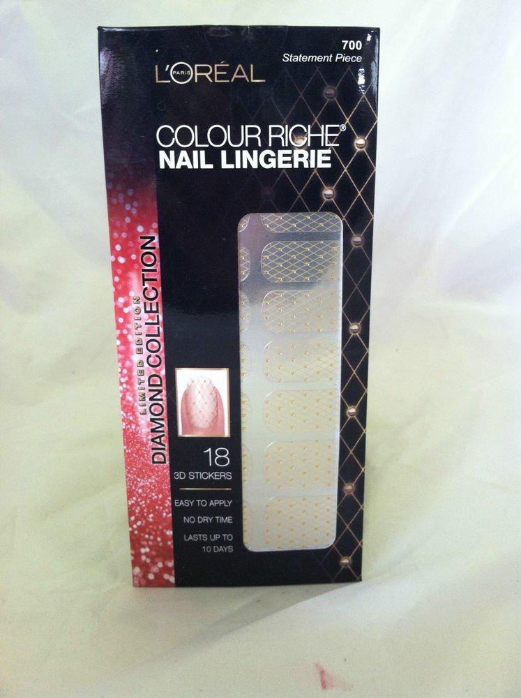 L'Oreal Colour Riche Nail Lingerie #700 Statement Piece New Limited Diamond Coll
