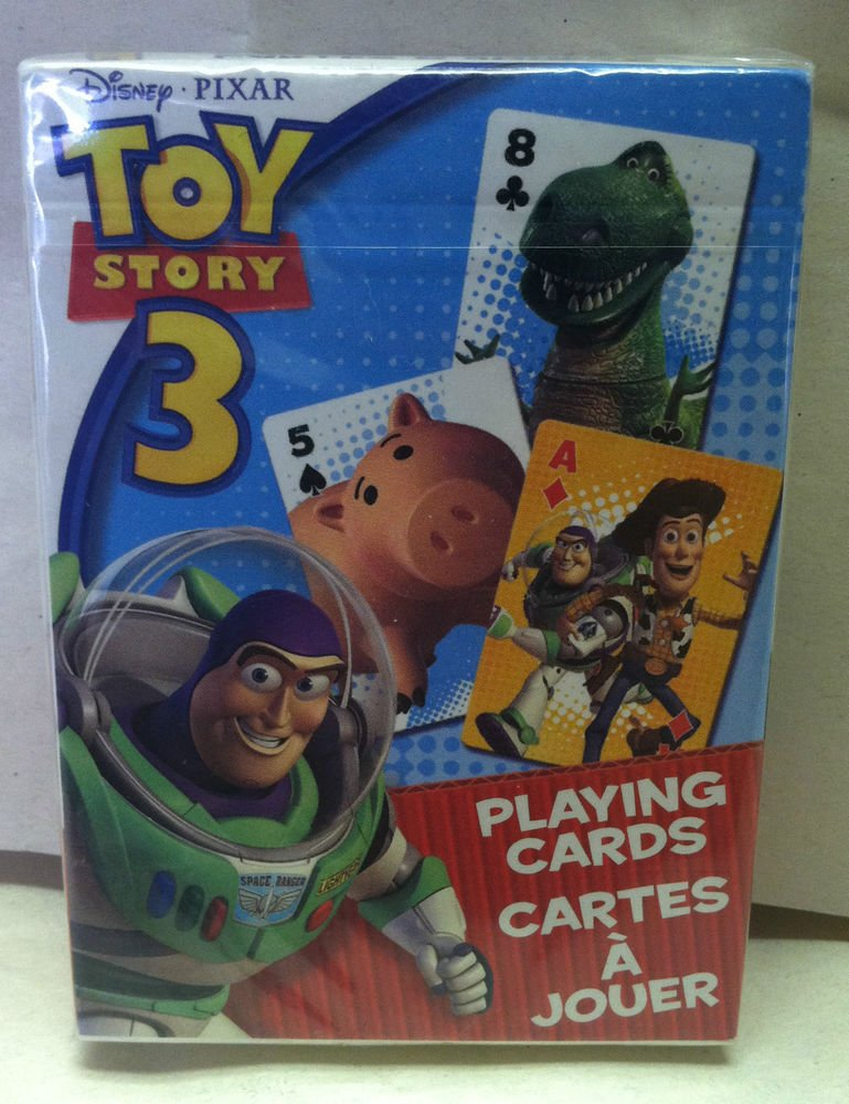 Bicycle Disney Pixar Toy Story 3 Playing Cards Sealed Brand New Buzz/Woody/Hamm