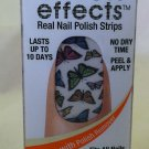 Sally Hansen Salon Effects Nail Polish Strips 330 *FLY WITH ME* Butterflies BNIB