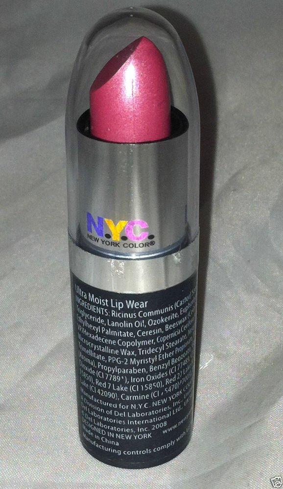 NYC New York Color Ultra Moist Lip Stick * 319B VIOLET SHINE * Sealed Brand New
