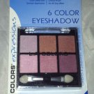 L.A. Colors 6 Color Eyeshadow Palette Set * BEP410 DREAMY * Long Lasting New
