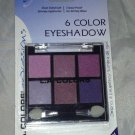 L.A. Colors 6 Color Eyeshadow Palette Set * BEP413 SWEET PLEASURE * Long Lasting