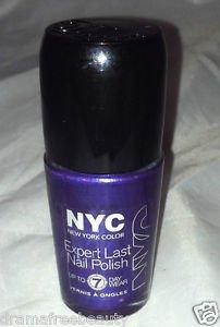 NYC New York Color Lmtd Ed. Expert Last Nail Polish * 250 MIDNIGHT AMETHYST *