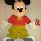 """Fisher-Price 26"""" Stuffed / Plush Disney's Mickey Mouse Doll / Toy / Animal NWT"""