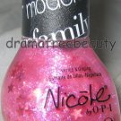 Nicole by OPI Nail Polish *SHE'S LILY SOMETHING* Holo Pink Stars & Pink Glitters
