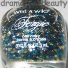 Wet n Wild FERGIE Nail Polish *KALEIDOSCOPE EYES* Blue Teal &Silver Hex Glitters