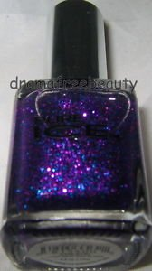Pure Ice Nail Polish 540 *CHEATIN* Fuchsia Purple & Blue Micro-Glitter Brand New