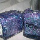Pure Ice Nail Polish *OVER YOU* Lilac Purple &Aqua Blue Hex/Bar Multi-Glitter BN