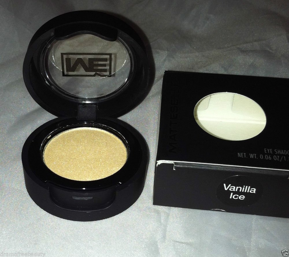 Mattese Elite Shimmer Frost Eyeshadow * VANILLA ICE * Light Golden Tan BNIB