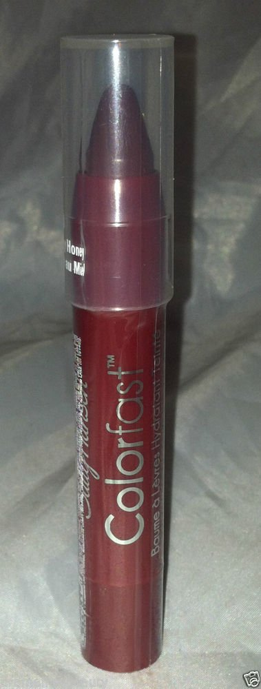 Sally Hansen ColorFast Lip Tint & Moisture Balm * 50 BLACKBERRY HONEY * Sealed