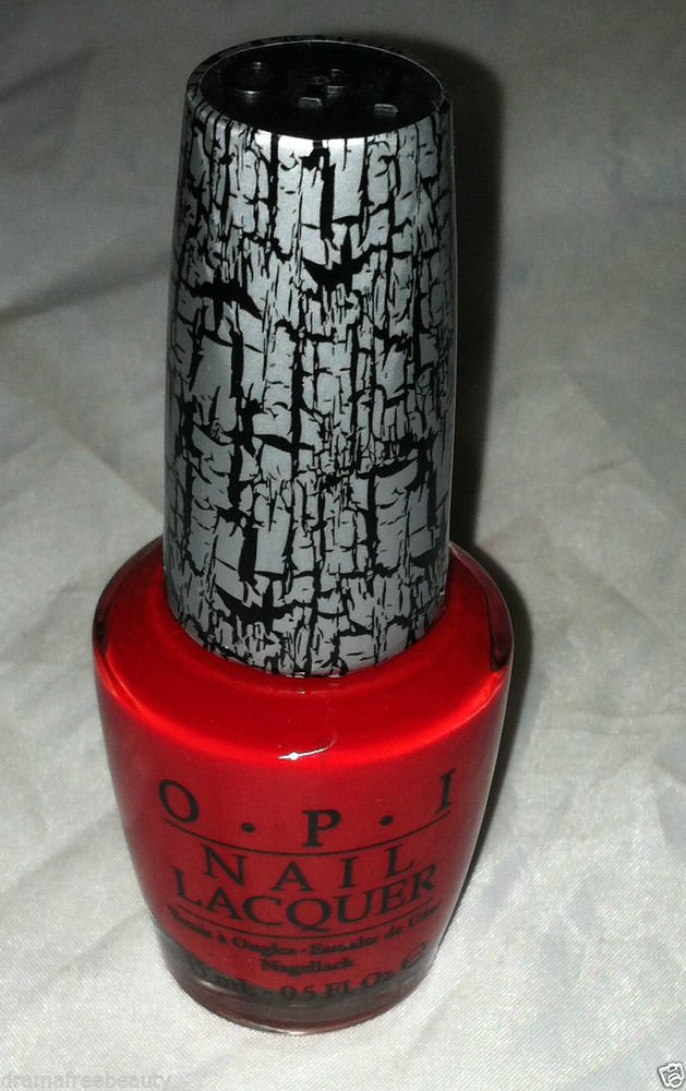 OPI Shatter Nail Polish / Lacquer * RED SHATTER * New Perfect For Halloween
