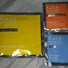 Kate Somerville 3pc Travel / Sample Lot 360 Tanning Towelette ExfoliKate New