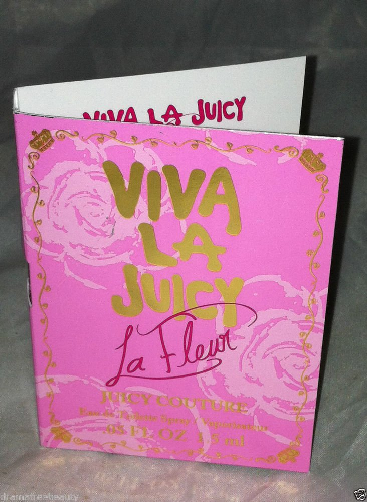 Viva La Juicy Couture * LA FLEUR * Travel / Sample Eau De Toilette Spray 1.5mL