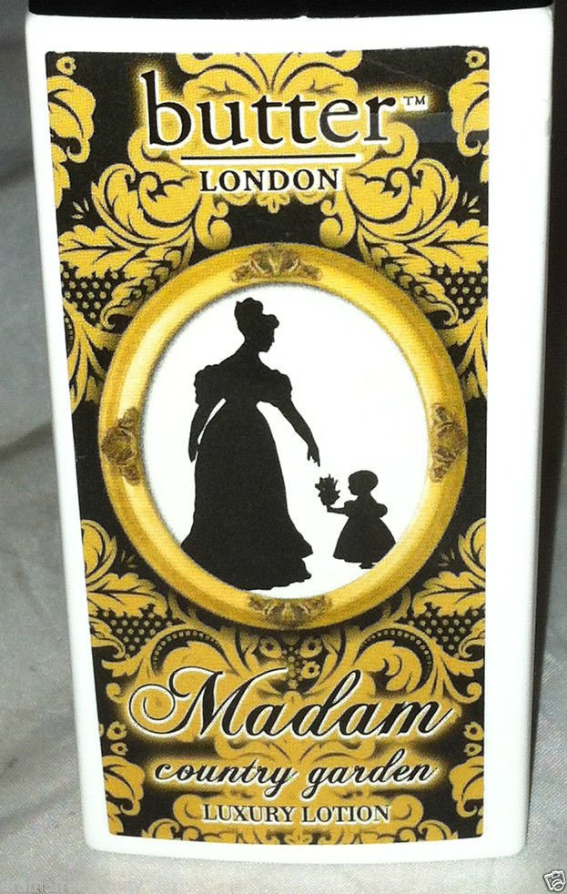 Butter London Madam Body Lotion * COUNTRY GARDEN * Paraben Free/Vegan  Brand New