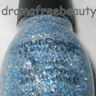 Sinful Colors Nail Polish *ICE DREAM* Silver Micro-Shimmer w/Blue Hex Glitters
