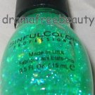 Sinful Colors Limited Edition Nail Polish 220 *GREEN OCEAN* Irid. Flakie Glitter