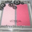 BN L'oreal BLUSH DELICE Lmt Ed. Sheer Powder Blush & Highlighter Duo *BABY PINK*