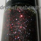 Maybelline Color Show Nail Sequins 835 *COCKTAIL DRESS* Black/Silver Red Glitter