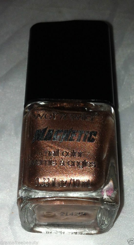 Wet n Wild Magnetic Nail Polish / Color * I WONT REPEL YOU * Copper/Pink Shimmer