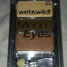 Wet n Wild Mega Eyes 3 Shade Eyeshadow * 09 EARTH BROWN * Brand New
