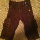 WonderKids Boys/Toddler/Infants 18 months Brown Corduroy Pants 7-pocket Design