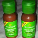 DermOrganic Intensive Hair Repair Masque Rice Keratin/Argan Oil 2pc Travel Lot