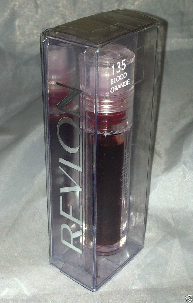 Revlon Just Bitten Lip Stain / Color * 135 BLOOD ORANGE * Sealed New