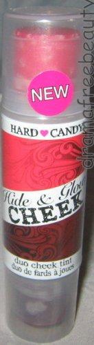 Hard Candy HIDE & GLOW Cream Cheek Tint Blush Duo in *HOT DATE* Sheer Red B. New