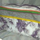 Peter Som Limited Edition Cosmetic/Makeup Bag Digital Floral Design 6 X 9 X 3.5