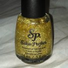Salon Perfect Nail Polish * 602 CHAMPAGNE TOAST * Sheer Golden Holographic HOLO
