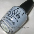 Opi HOLLAND Nail Lacquer Polish *I DON'T GIVE ROTTERDAM!* Blue Grey w/Shimmer BN